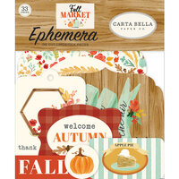 Carta Bella Paper - Fall Market Collection - Ephemera