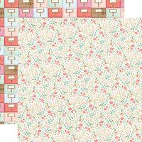 Carta Bella Paper - Farmhouse Market Collection - 12 x 12 Double Sided Paper - Antique Floral