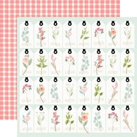 Carta Bella Paper - Farmhouse Market Collection - 12 x 12 Double Sided Paper - Tags