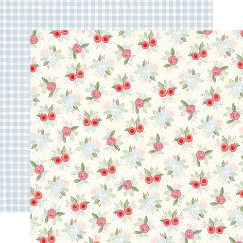Carta Bella Paper - Farmhouse Market Collection - 12 x 12 Double Sided Paper - Vintage Floral