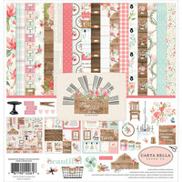Carta Bella Paper - Farmhouse Market Collection - 12 x 12 Collection Kit