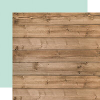 Carta Bella Paper - Farmhouse Market Collection - 12 x 12 Double Sided Paper - Woodgrain