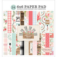 Carta Bella Paper - Farmhouse Market Collection - 6 x 6 Paper Pad