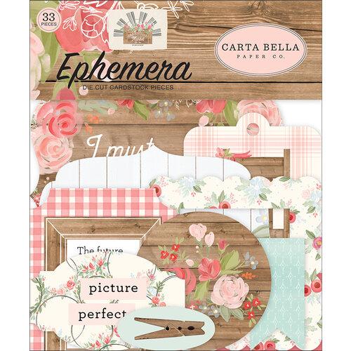 Carta Bella Paper - Farmhouse Market Collection - Ephemera