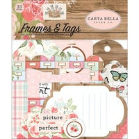Carta Bella Paper - Farmhouse Market Collection - Ephemera - Frames and Tags
