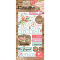 Carta Bella Paper - Farmhouse Market Collection - Cardstock Sticker Book