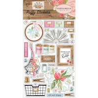 Carta Bella Paper - Farmhouse Market Collection - Puffy Stickers