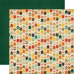 Carta Bella - Fall Blessings Collection - 12 x 12 Double Sided Paper - Arrows