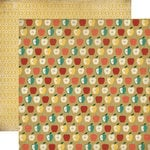 Carta Bella - Fall Blessings Collection - 12 x 12 Double Sided Paper - Apples