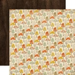 Carta Bella - Fall Blessings Collection - 12 x 12 Double Sided Paper - Autumn Trees