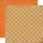 Carta Bella - Fall Blessings Collection - 12 x 12 Double Sided Paper - Country Plaid