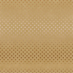 Carta Bella Paper - Dots and Stripes Collection - Copper Foil - 12 x 12 Paper with Foil Accents - Kraft