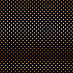 Carta Bella Paper - Dots and Stripes Collection - Copper Foil - 12 x 12 Paper with Foil Accents - Black
