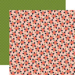 Carta Bella Paper - Flora No 1 Collection - 12 x 12 Double Sided Paper - Lily Meadow Spray