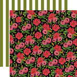 Carta Bella Paper - Flora No 1 Collection - 12 x 12 Double Sided Paper - Rose Garden Bouquet