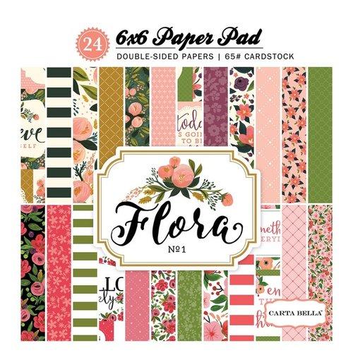 Carta Bella Paper - Flora No 1 Collection - 6 x 6 Paper Pad