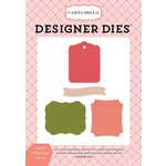 Carta Bella Paper - Flora No 1 Collection - Designer Dies - Simply Stated Labels