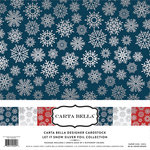 Carta Bella Paper - Let it Snow Collection - 12 x 12 Collection Kit with Foil Accents