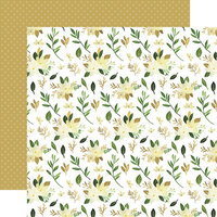 Carta Bella Paper - Flora No. 4 Collection - 12 x 12 Double Sided Paper - Natural Stems