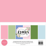 Carta Bella Paper - Flora No. 4 Collection - 12 x 12 Paper Pack - Solids