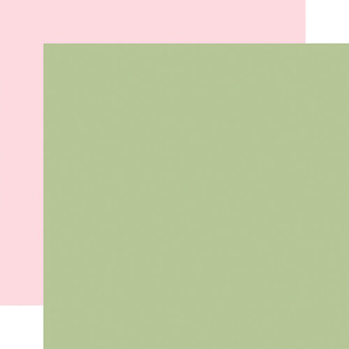 Carta Bella Paper - Flora No. 4 Collection - 12 x 12 Double Sided Paper - Sage