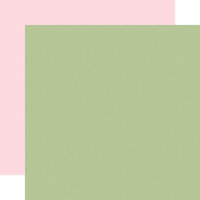 Carta Bella Paper - Flora No. 4 - 12 x 12 Double Sided Paper - Sage