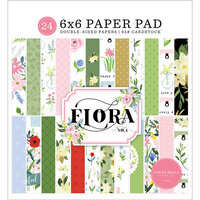Carta Bella Paper - Flora No. 4 Collection - 6 x 6 Paper Pad
