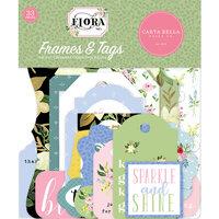 Carta Bella Paper - Flora No. 4 Collection - Ephemera - Frames and Tags