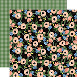 Carta Bella Paper - Flora No 2 Collection - 12 x 12 Double Sided Paper - Blossom Cluster