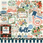 Carta Bella Paper - Flora No 2 Collection - 12 x 12 Cardstock Stickers