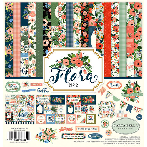 Carta Bella Paper - Flora No 2 Collection - 12 x 12 Collection Kit