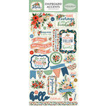 Carta Bella Paper - Flora No 2 Collection - Chipboard Stickers - Accents