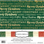 Carta Bella Paper - Merry Christmas Collection - 12 x 12 Collection Kit with Foil Accents