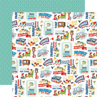 Carta Bella Paper - Family Night Collection - 12 x 12 Double Sided Paper - Family Fun Night
