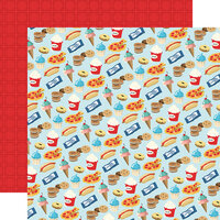 Carta Bella Paper - Family Night Collection - 12 x 12 Double Sided Paper - Snack Time