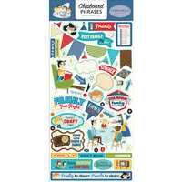 Carta Bella Paper - Family Night Collection - Chipboard Stickers - Phrases