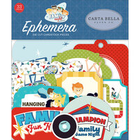 Carta Bella Paper - Family Night Collection - Ephemera