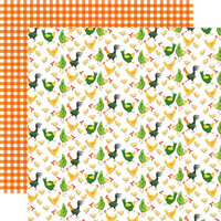 Carta Bella Paper - Farm To Table Collection - 12 x 12 Double Sided Paper - Chicken Coop