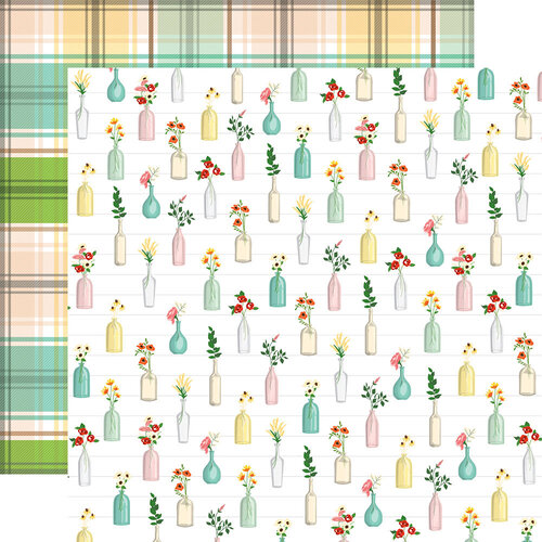 Carta Bella Paper - Farm To Table Collection - 12 x 12 Double Sided Paper - Bushels of Blooms
