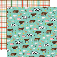 Carta Bella Paper - Farm To Table Collection - 12 x 12 Double Sided Paper - Barnyard