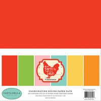 Carta Bella Paper - Farm To Table Collection - 12 x 12 Paper Pack - Solids