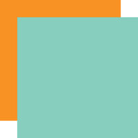 Carta Bella Paper - Farm To Table Collection - 12 x 12 Double Sided Paper - Teal