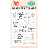 Carta Bella Paper - Farm To Table Collection - Clear Photopolymer Stamps - Gather