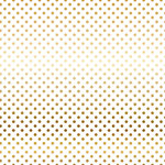 Carta Bella Paper - Dots and Stripes Collection - Vellum Foil - 12 x 12 Vellum with Foil Accents - Gold Dot