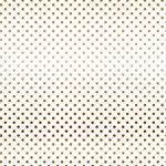 Carta Bella Paper - Dots and Stripes Collection - Vellum Foil - 12 x 12 Vellum with Foil Accents - Copper Dot