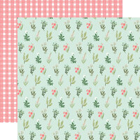 Carta Bella Paper - Flower Garden Collection - 12 x 12 - Double Sided Paper - Beautiful Day Floral