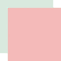 Carta Bella Paper - Flower Garden Collection - 12 x 12 Double Sided Paper - Pink