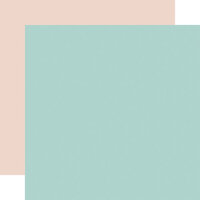 Carta Bella Paper - Flower Garden Collection - 12 x 12 Double Sided Paper - Blue