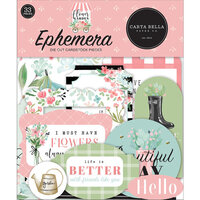 Carta Bella Paper - Flower Garden Collection - Ephemera
