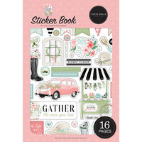 Carta Bella Paper - Flower Garden Collection - Cardstock Sticker Book